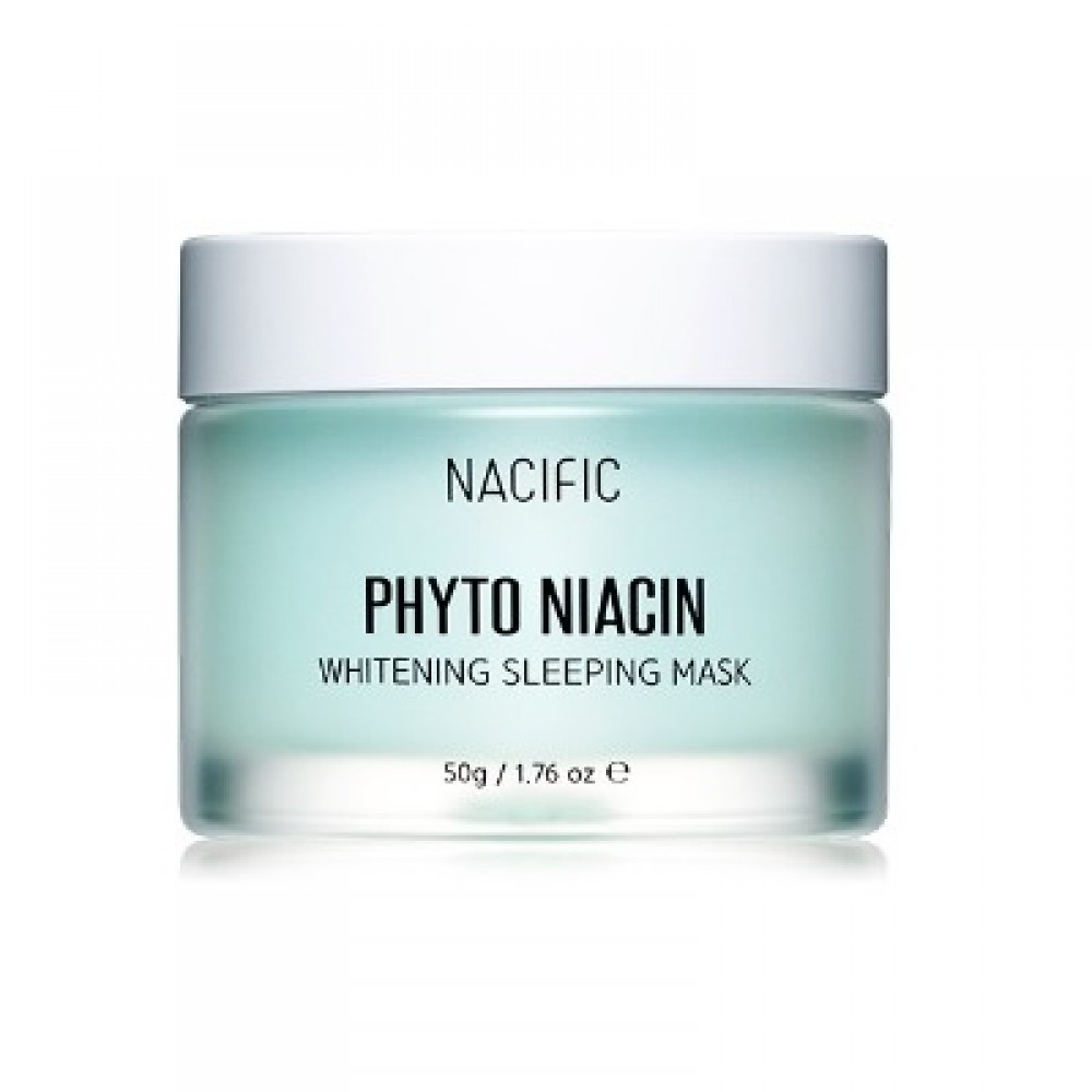 Nacific Phyto Niacin Whitening Sleeping Mask Осветляющая ночная маски с ниацином