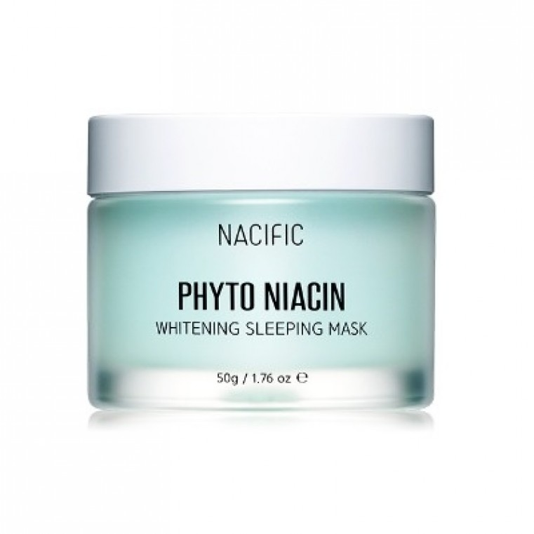 Nacific Phyto Niacin Whitening Sleeping Mask Осветляющая ночная маски с ниацином