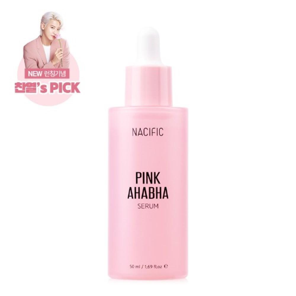 Nacific Pink AHA BHA Serum Серум с экстрактом арбуза, АНА и ВНА кислотами