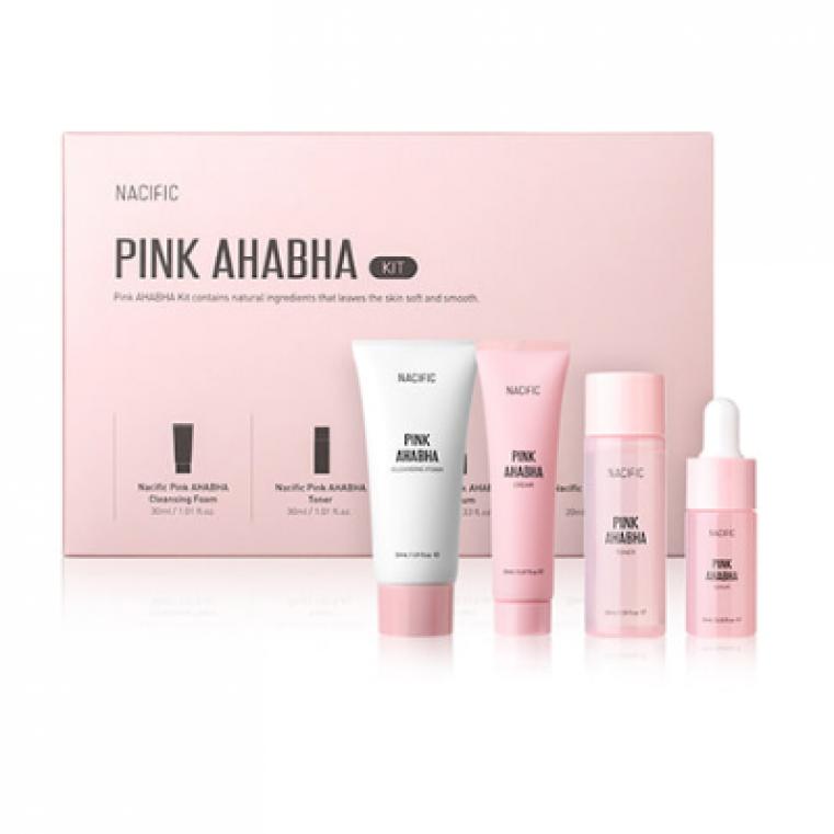 Nacific Pink AHABHA Kit [Mini Set] Набор миниатюр линейки с кислотами и арбузом