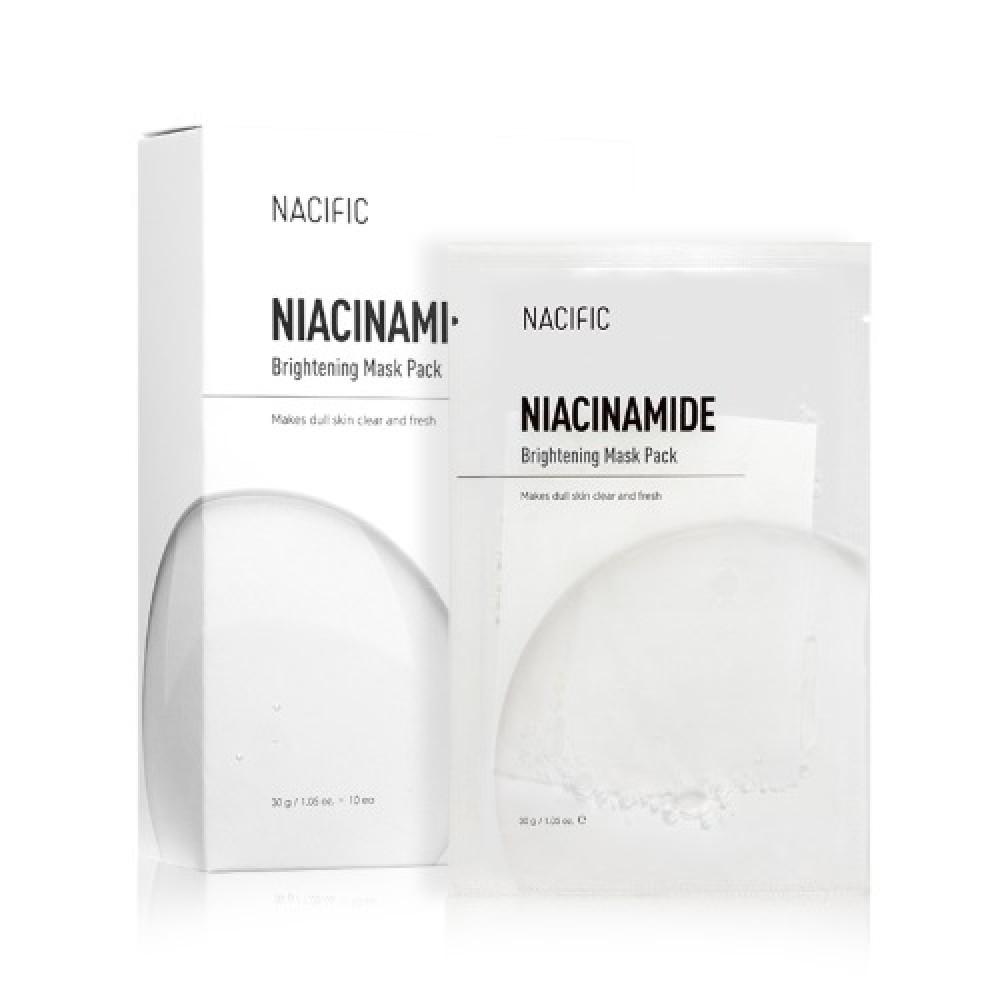 Nacific Niacinamide Brightening Mask Pack Тканевая маска с ниацинамидом