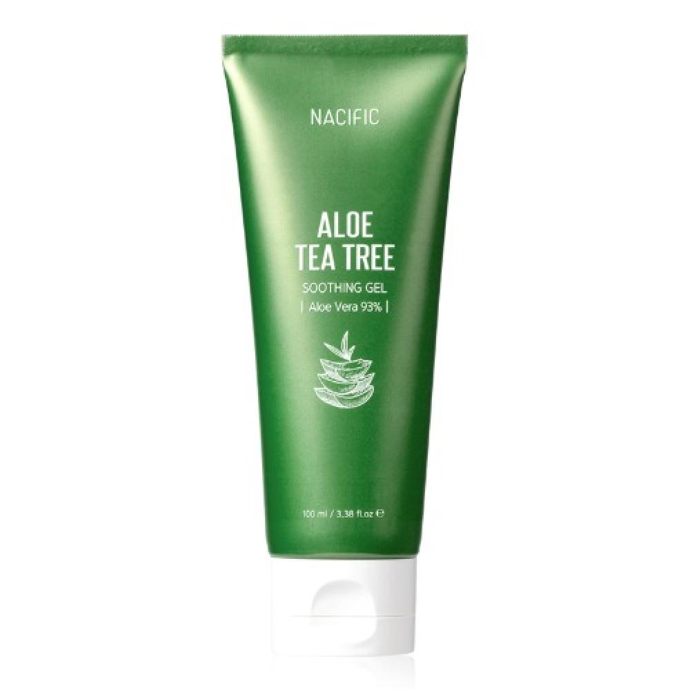 Nacific Aloe Tea Tree Soothing Gel Гель алоэ 93% и чайным деревом