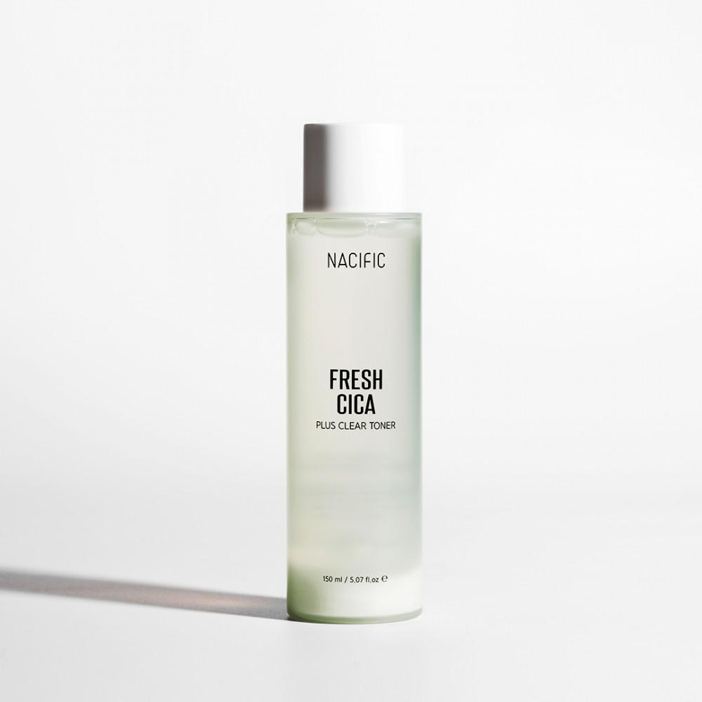 Nacific Fresh Cica Plus Clear Toner Тонер на основе центеллы