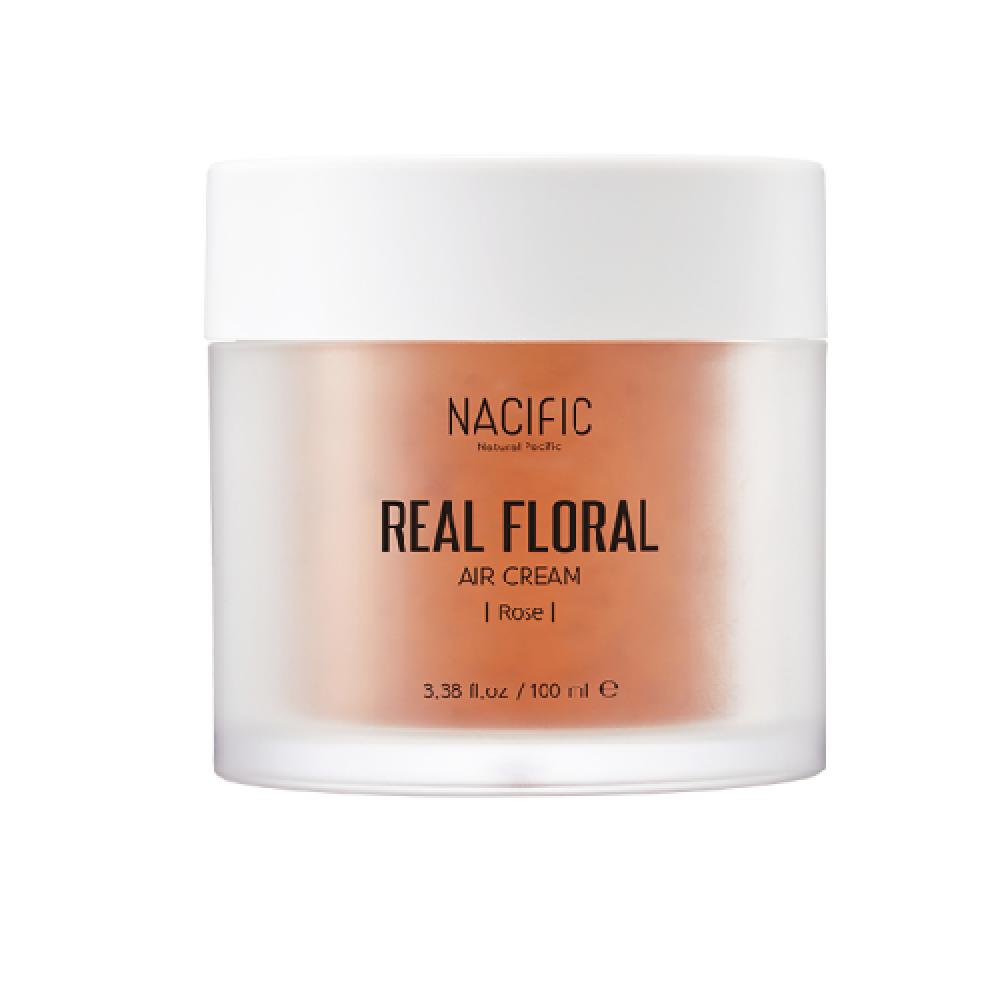 Nacific Real Rose  Floral Air Cream Крем лёгкий увлажняющий с розовыми лепестками