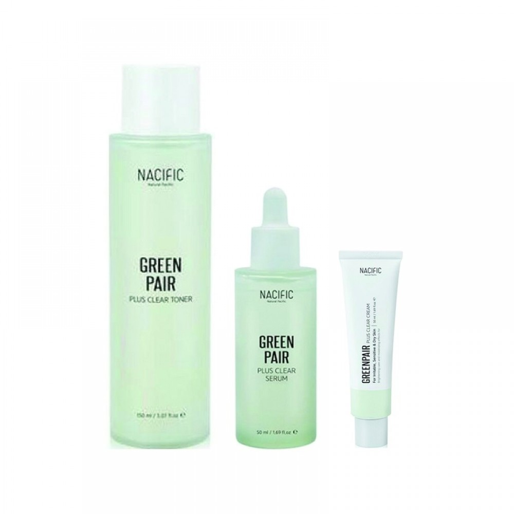 Nacific Fresh Cica Plus Clear - набор