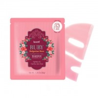 KOELF Ruby & Bulgarian Rose Hydro Gel Mask Pack Гидрогелевая маска с рубиновой пудрой и розовым маслом