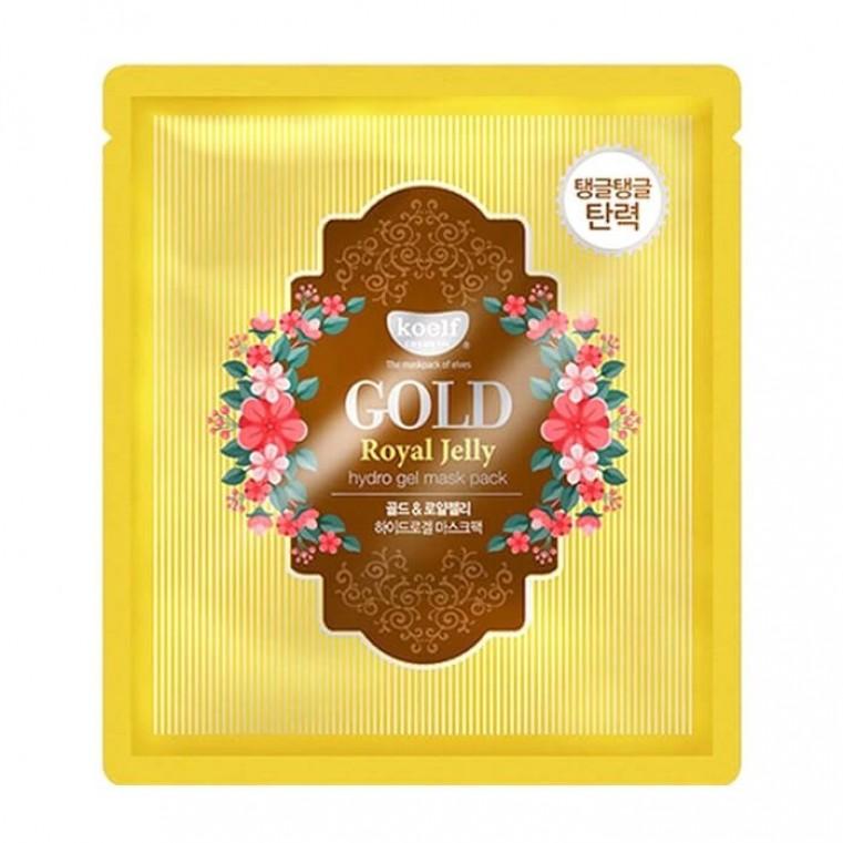 Petitfee Koelf Gold & Royal Jelly Mask Гидрогелевая маска для лица с золотом и маточным молочком