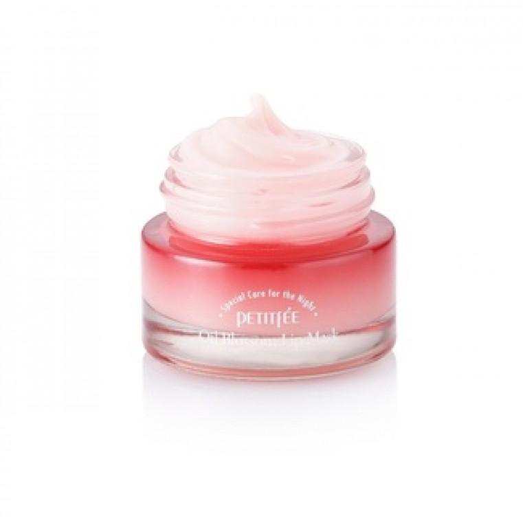 Petitfee Oil Blossom Lip Mask Camellia Seed Oil Маска для губ с маслом камелии