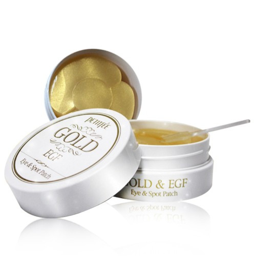 Petitfee Gold & EGF Eye & Spot Patch Патчи гидрогелевые с золотом и EGF