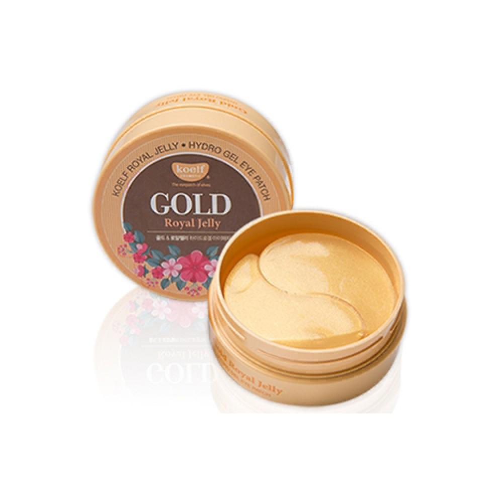 Koelf Gold & Royal Jelly Hydro Gel Eye Patch Патчи гидрогелевые с золотом и маточным молочком