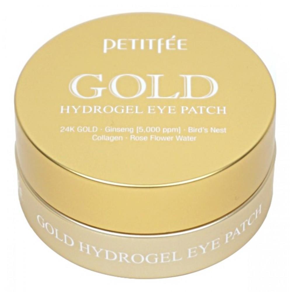 Petitfee GOLD Hydrogel Eye Patch Патчи гидрогелевые с золотом
