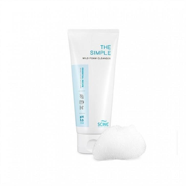 The Simple Mild Foam Cleanser Пенка для очищения чувствительной кожи