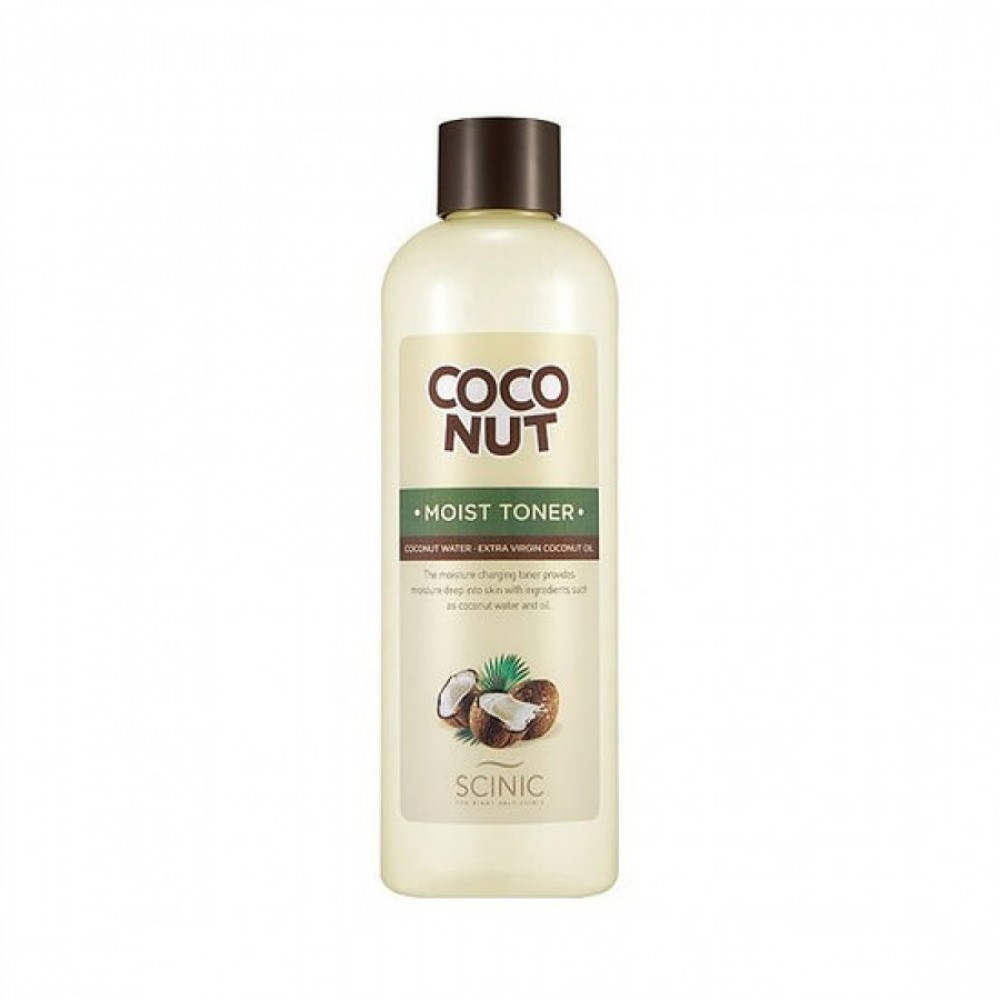 Coconut Moist Toner Scinic Тонер увлажняющий с кокосовым маслом