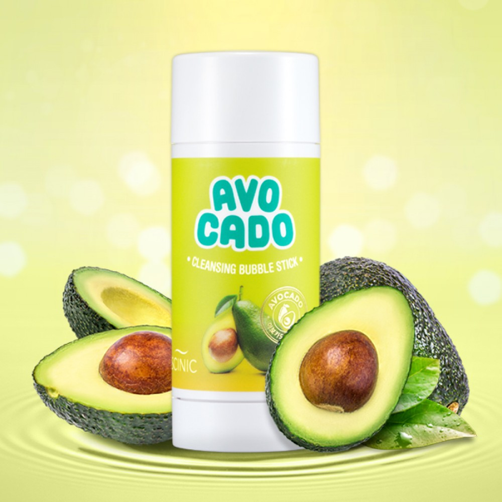Scinic Avocado Cleansing Bubble Stick Пузырьковый стик для удаления макияжа