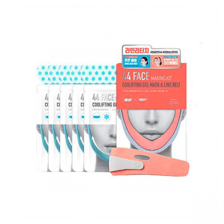 44 Face Making Kit набор из 5 масок Маска для коррекции контура (овала) лица
