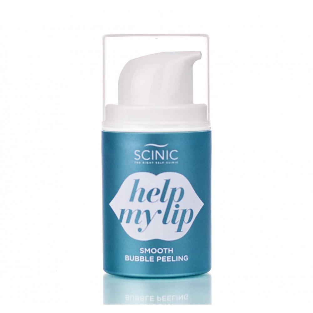 Scinic Help My Smooth Bubble Peeling Пенка пилинг нежная для ухода за губами