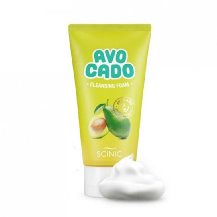 Scinic Avocado Cleansing Foam Пенка для умывания с авокадо