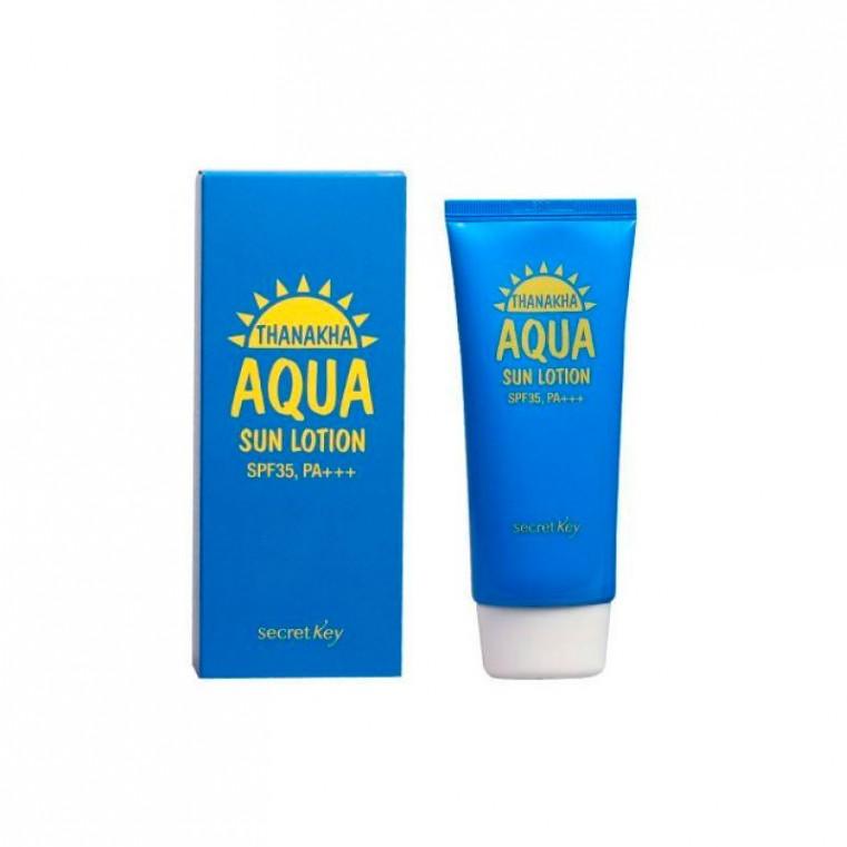 Thanakha Aqua Sun Lotion Увлажняющий солнцезащитный лосьон SPF35 PA+++