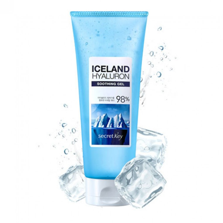 Secret Key Iceland Hyaluron Soothing Gel Многофункциональный гель гиалуроновой кислотой