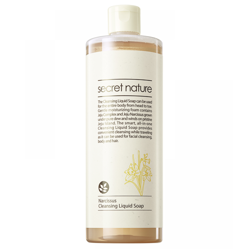 Narcissus Cleansing Liquid Soap Универсальное жидкое мыло для лица и тела с нарциссом
