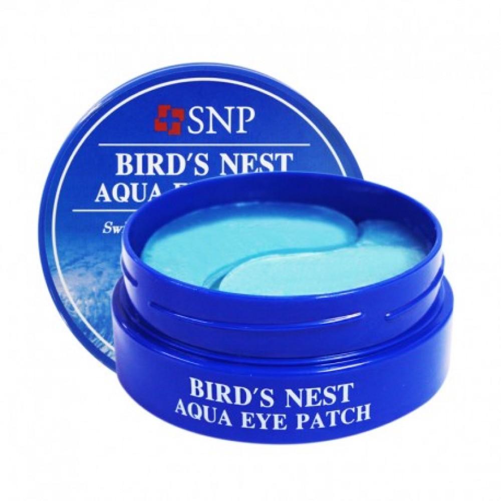 SNP Bird's Nest Aqua Eye Patch Патчи гидрогелевые для век с экстрактом ласточкиного гнезда