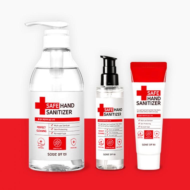 Some By Mi Safe Hand Sanitizer Антибактериальный гель для рук на основе этилового спирта.