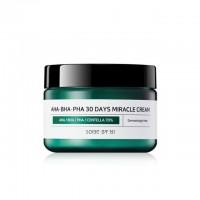 Some By Mi AHA-BHA-PHA 30 Days Miracle Cream  Крем восстанавливающий для проблемной кожи