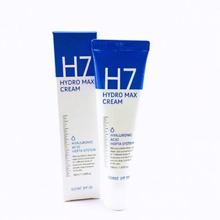 Some By Mi H7 Hydro Max Cream Крем глубокоувлажняющий на основе комплекса гиалуроновой кислоты