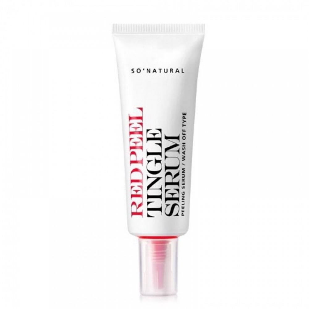So Natural Red Peel Tingle Serum Сыворотка кислотная с пингл-эффектом, 20мл
