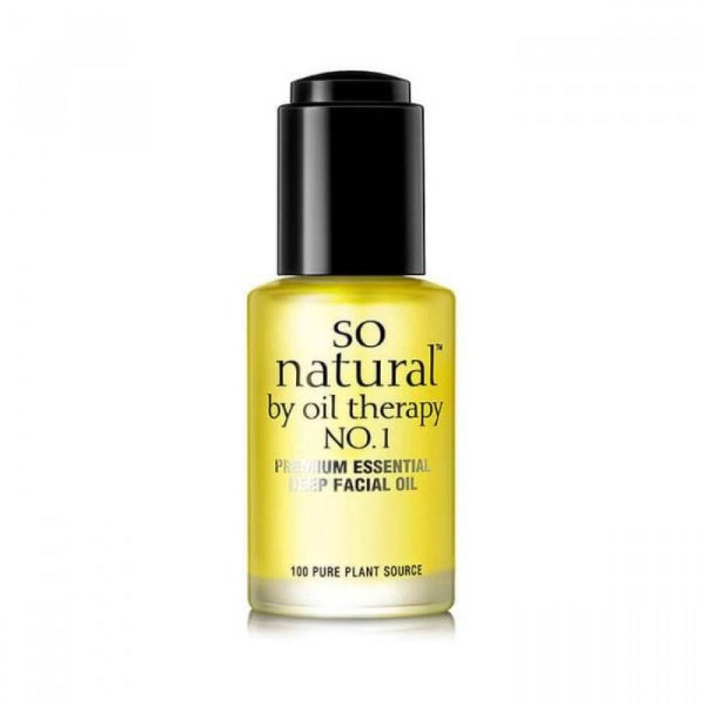 So Natural Concentrate Premium Essential Deep Facial Oil 100% натуральное масло для лица