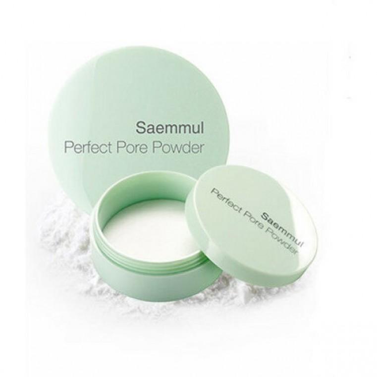Saemmul Perfect Pore Powder Рассыпчатая пудра для маскировки расширенных пор