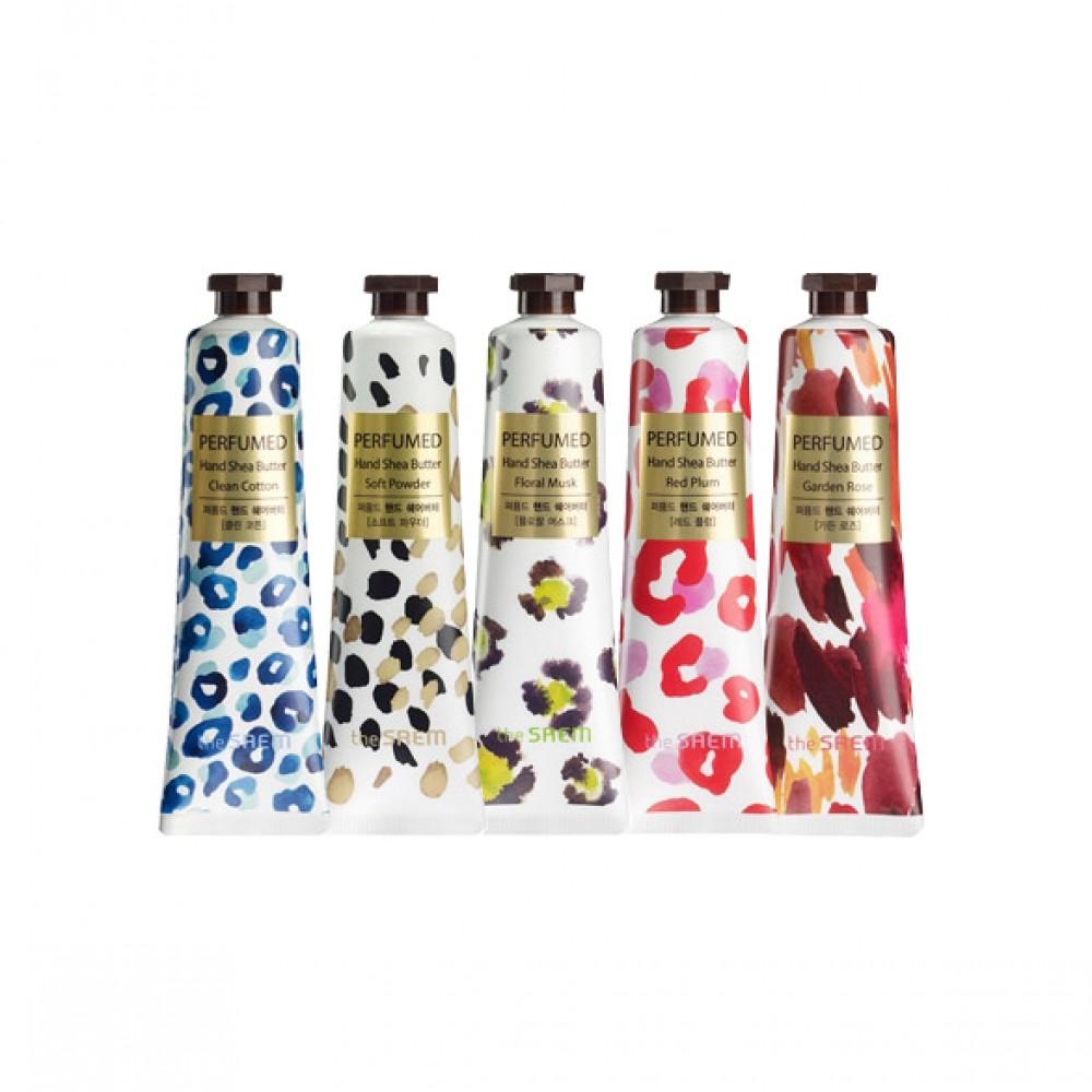 The Saem Perfumed Hand Shea Butter Парфюмированный крем для рук с маслом ши