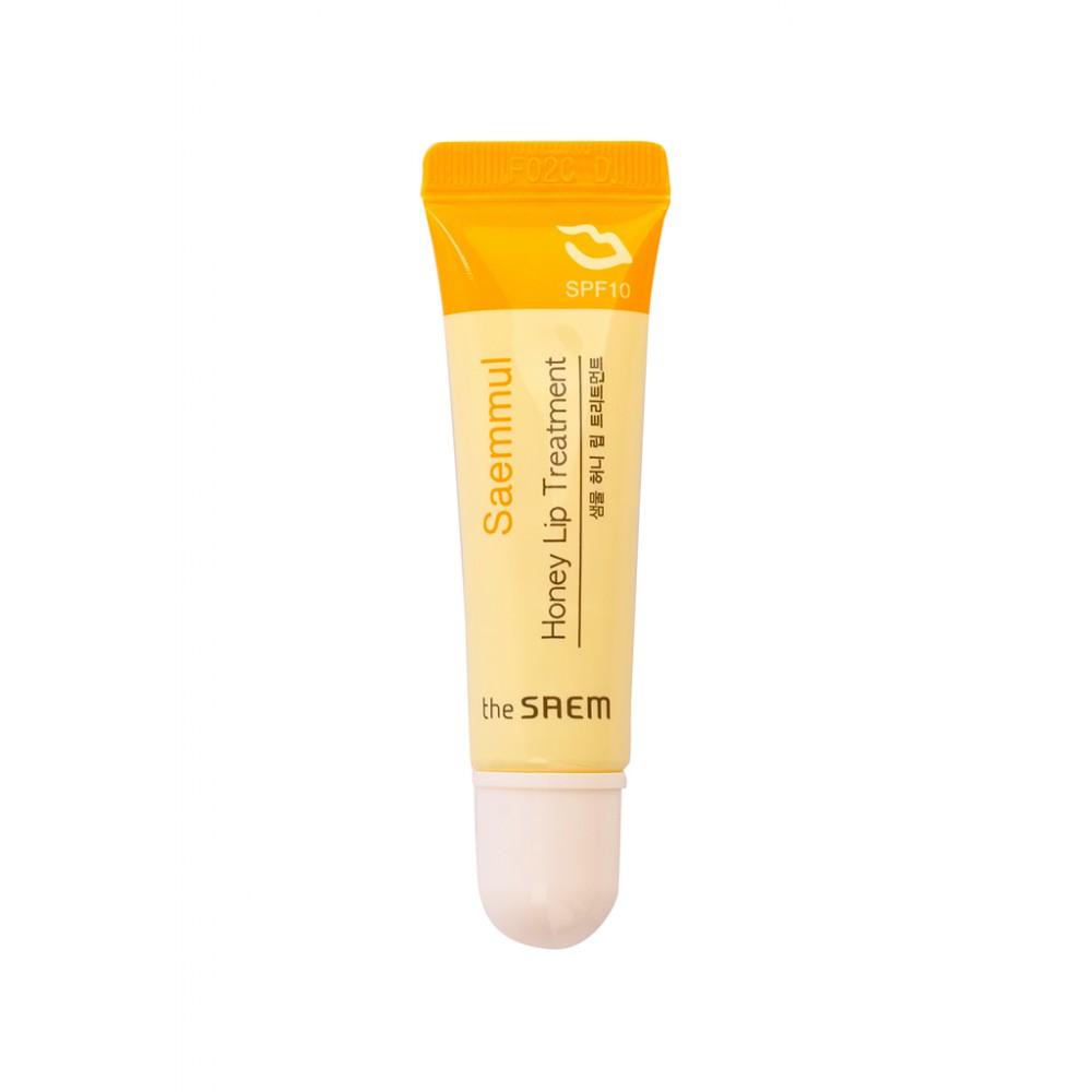 The Saem Saemmul Honey Lip Treatment Бальзам для губ медовый SPF10