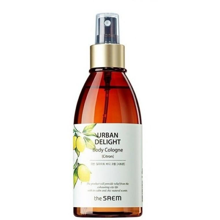 THE SAEM Urban Delight Body Cologne Citron Парфюмированный спрей для тела с ароматом лимона