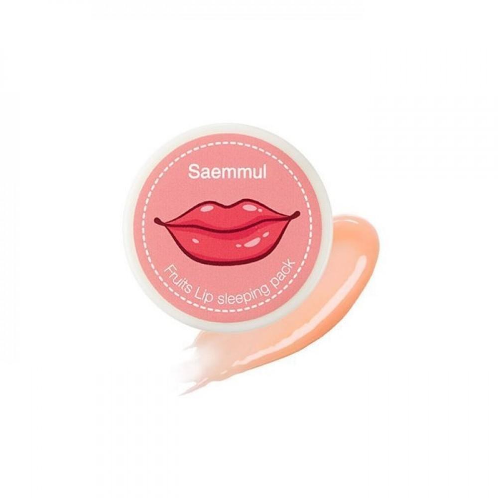 Saemmul Fruits Lip Sleeping Pack Ночная маска для губ