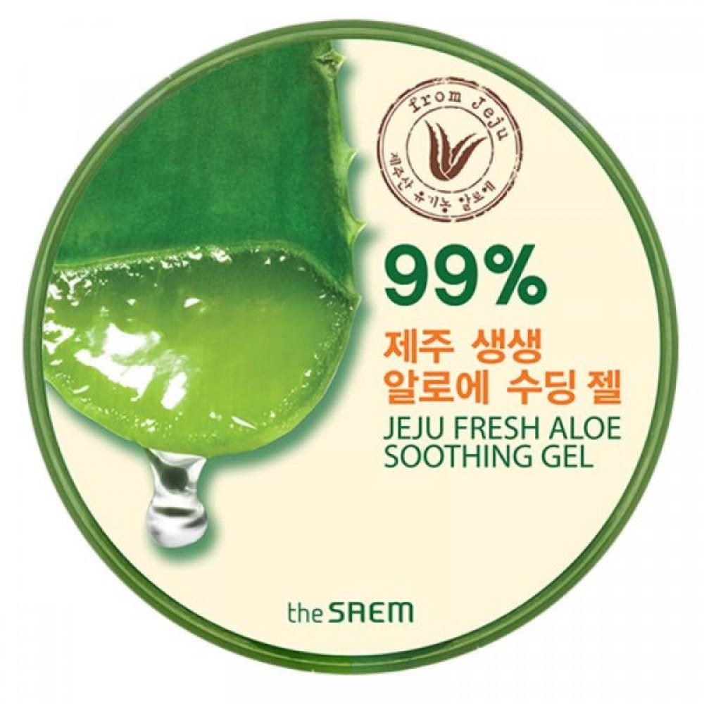 Jeju Fresh Aloe Soothing Gel 99% Гель с алоэ универсальный увлажняющий