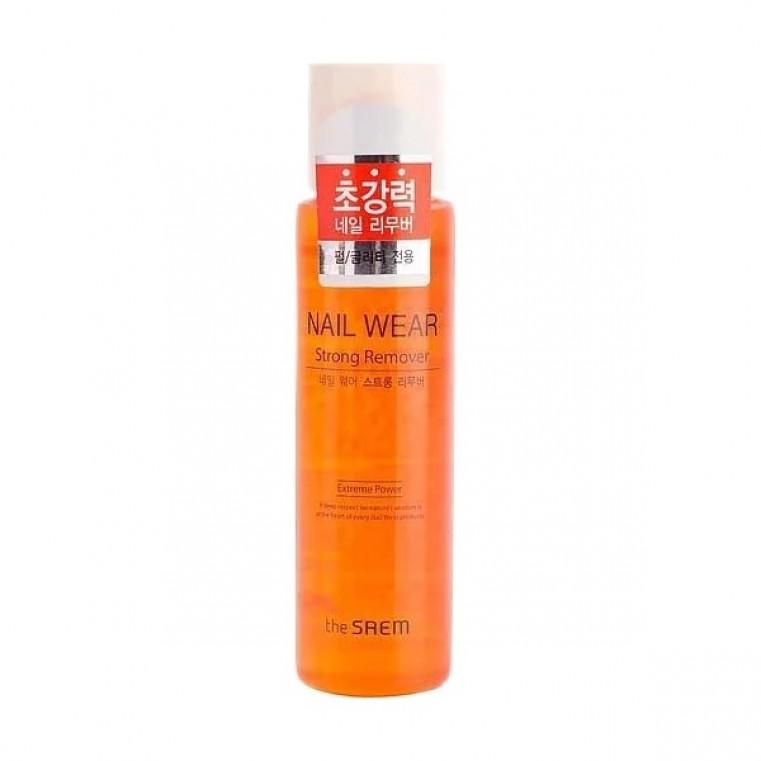 THE SAEM Nail Wear Strong Remover Жидкость для снятия лака усиленного действия