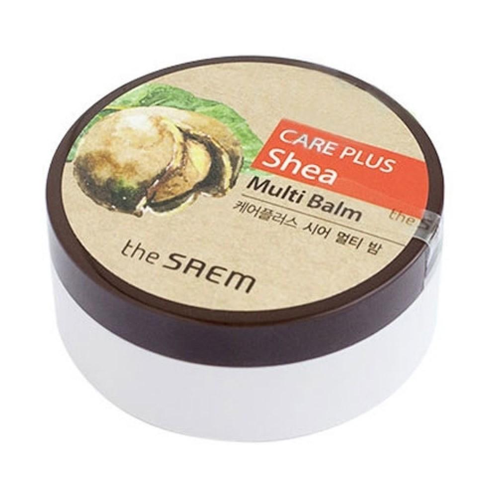THE SAEM Care Plus Shea Multi Balm Универсальный бальзам с маслом ши