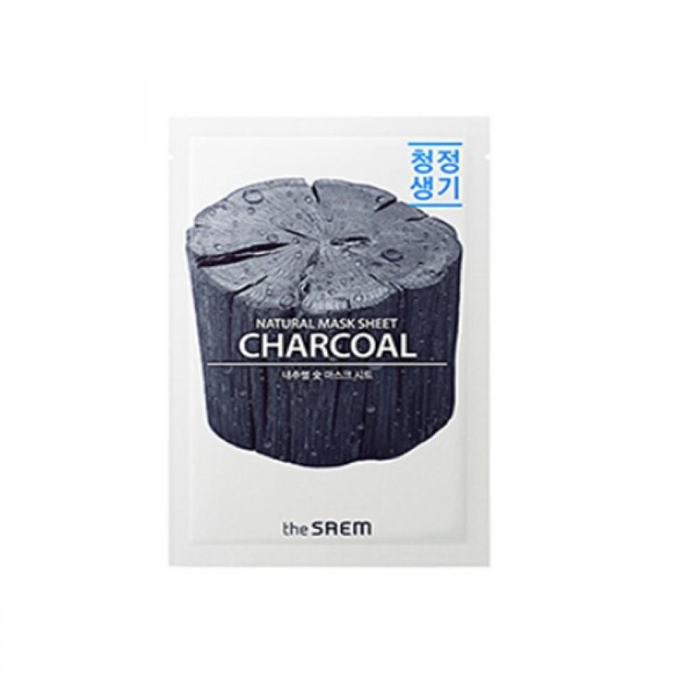 Natural Charcoal Mask Sheet Маска тканевая с древесным углем