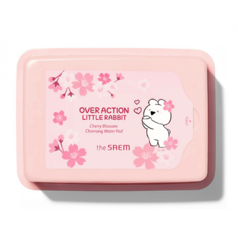 The Saem Healing Tea Garden Cherry Blossom Cleansing Water Pad Очищающие салфетки