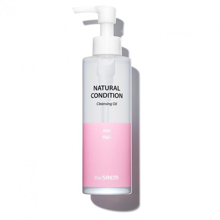 The Saem Natural Condition Cleansing Oil Mild Гидрофильное масло для мягкого очищения (для нормальной и комбинированной кожи)
