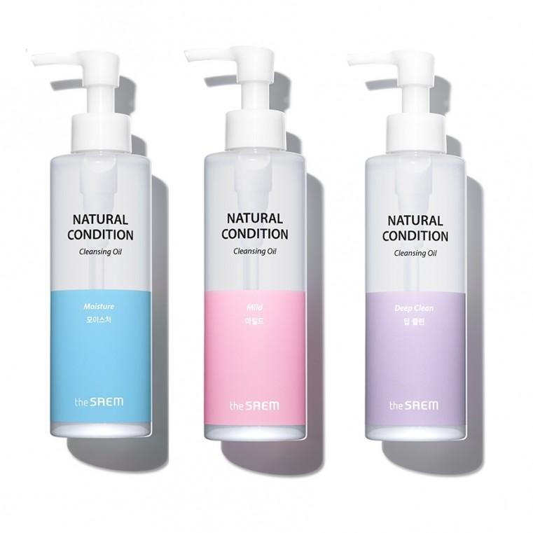 Natural Condition Cleansing Oil  Гидрофильное масло для мягкого очищения
