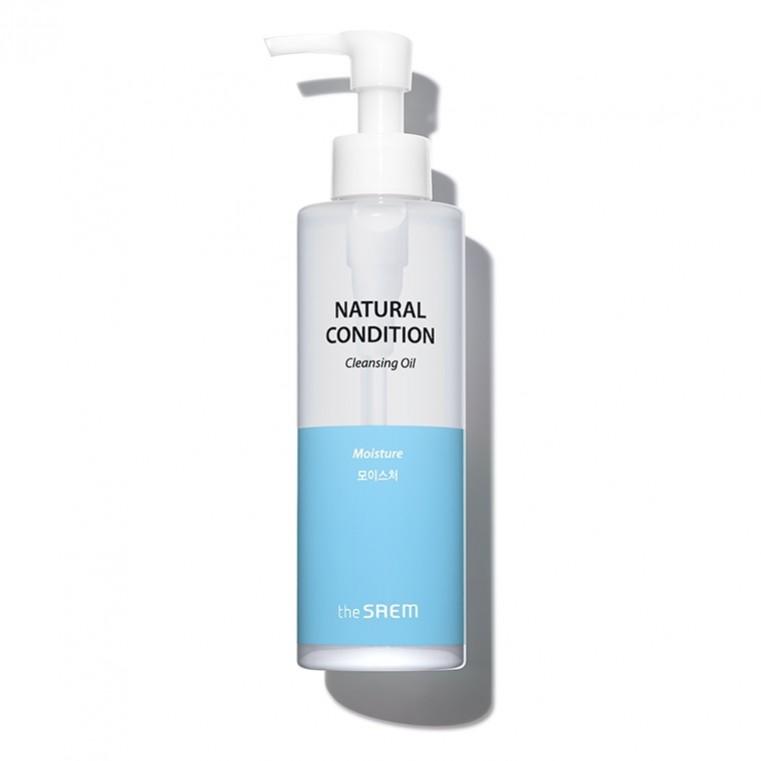 The Saem Natural Condition Cleansing Oil Moisture увлажняющее гидрофильное масло (для сухой и нормальной кожи)