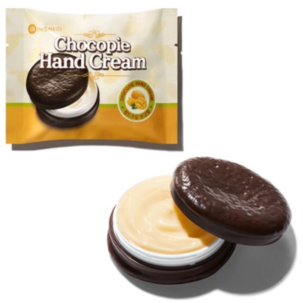 THE SAEM Chocopie Hand Cream Mango Крем для рук чокопай с ароматом манго