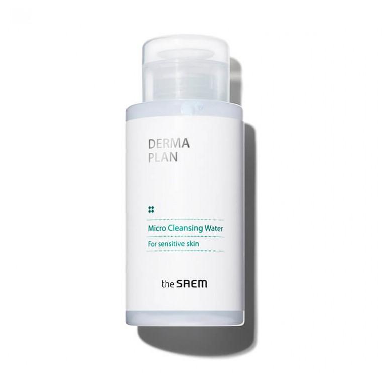 The Saem Derma Plan Micro Cleansing Water Очищающая вода для чувствительной кожи