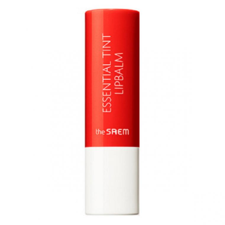 The Saem Saemmul Essential Tint Lipbalm Увлажняющий бальзам-тинт для губ OR01- оранжевый