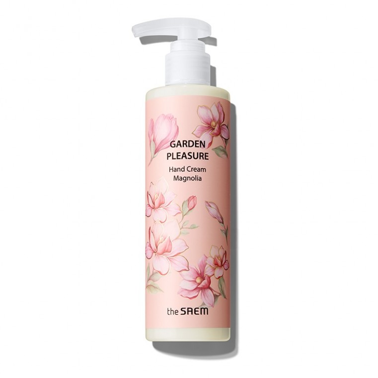 The Saem Garden Pleasure Hand Cream Magnolia Крем для рук с экстрактом магнолии