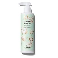 The Saem Garden Pleasure Hand Cream Linen Cotton Крем для рук с ароматом хлопка
