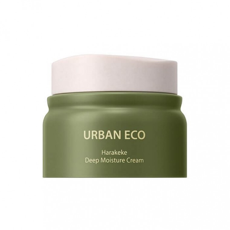The Saem Urban Eco Harakeke Deep Moisture Cream Глубокоувлажняющий крем с корнем льна