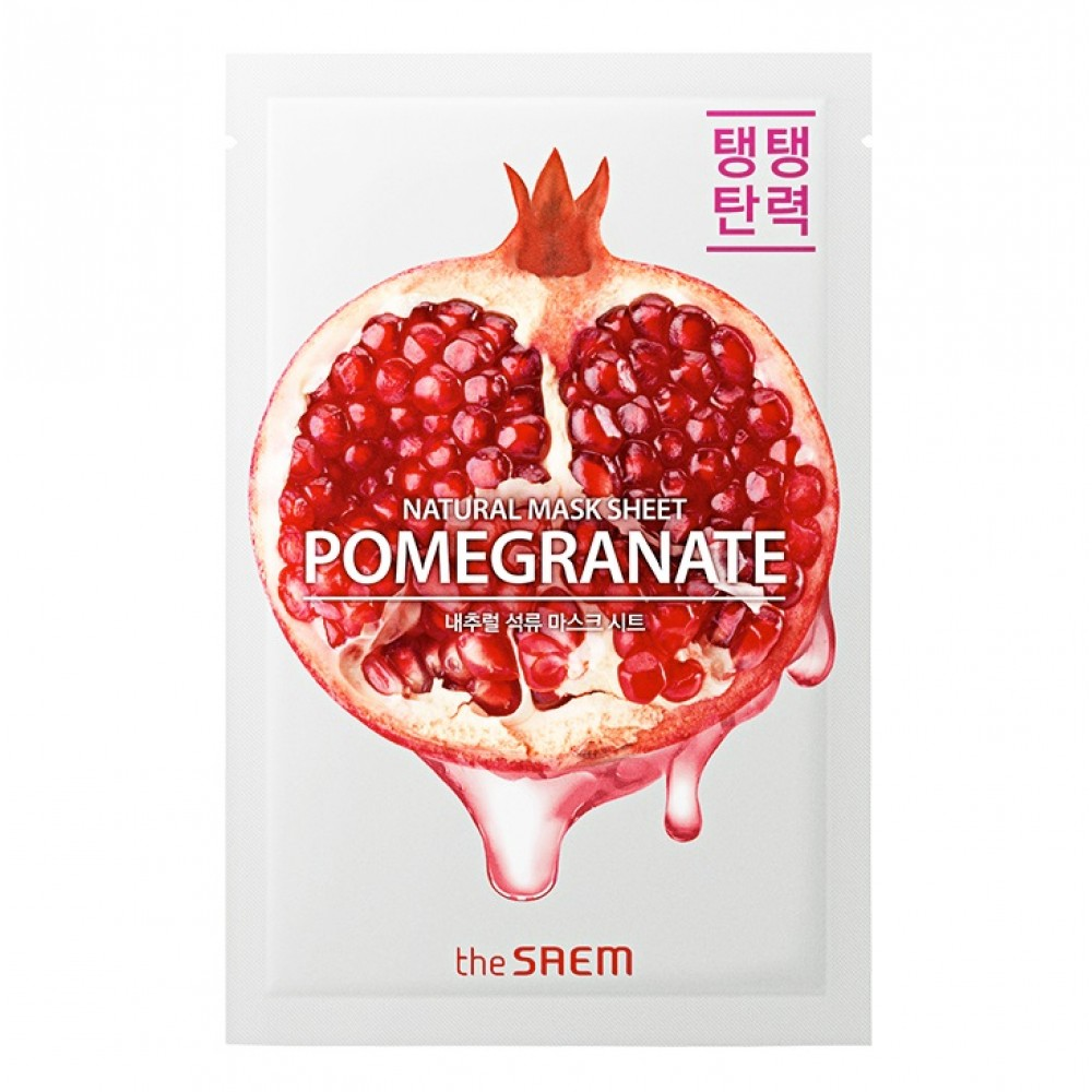 Natural Pomegranate Mask Sheet Маска тканевая с экстрактом граната